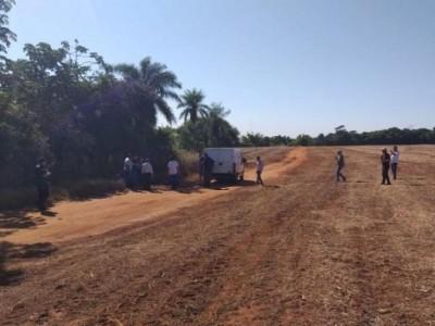 A suspeita é de que o crime aconteceu na noite de ontem (5) -  (Foto: Nelson Candia/Rádio Império)
