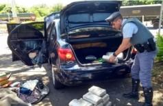 Droga apreendida no veículo do agente - Foto: Divulgação