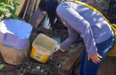 CCZ realizou mutirão de combate à dengue neste fim de semana em Dourados (Foto: Divulgação/Prefeitura de Dourados)