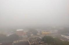 Dourados amanhece nesta sexta-feira com forte neblina - Foto: Karol Chicoski/94FM