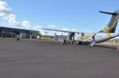 Três companhias aéreas suspenderam operações em Dourados por causa do novo coronavírus (Foto: Divulgação/Prefeitura)