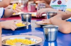 Com aulas suspensas devido ao coronavírus, Justiça recomenda que prefeitura distribua kits de alimentos para alunos carentes