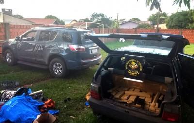 Veículo apreendido pela polícia - Foto: DOF