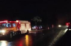 Condutor e passageiro de Strada morreram na hora - Foto:  Notícia de Ponta