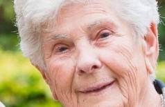 Suzanne Hayloerts, de 90 anos, abriu mão de respirador na Bélgica - Foto: Facebook / Reprodução