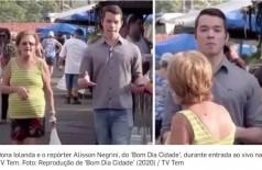 Foto: Reprodução de 'Bom Dia Cidade' (2020) / TV Tem