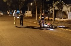 Home fi executado por dupla que estava numa moto - Foto: Sidnei Bronka