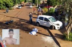 Jovem morreu em cruzamento no Parque das Nações II - Foto: Sidnei Bronka