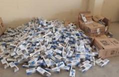 PF deflagra operação de combate ao contrabando de cigarros em 5 cidades de MS