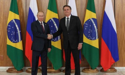 Bolsonaro conversa com Putin sobre cooperação (Foto: Arquivo/Agência Brasil)