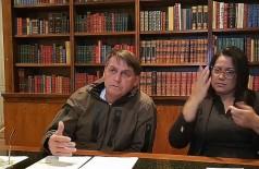 © Reprodução Youtube/Jair Bolsonaro