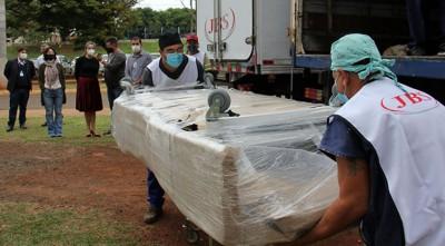 Ao todo o frigorífico doou ao HRMS, 10 kits completos de UTI (Foto: Chico Ribeiro)