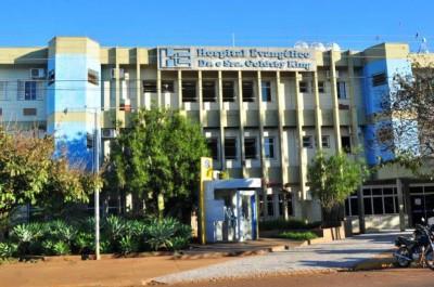 Indígena estava internado ho Hospital Evangélico - Foto: Arquivo