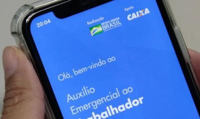 O auxílio emergencial é um benefício financeiro concedido pelo governo federal - © Marcello Casal JrAgência Brasil