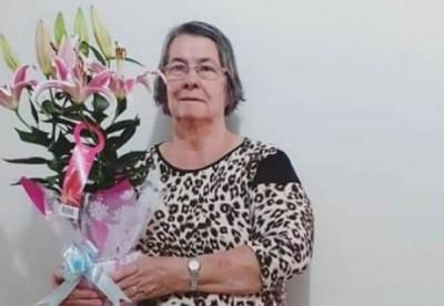 Uma das vítimas da covid-19, Lourdes Fernandes Soares - Foto: Reprodução