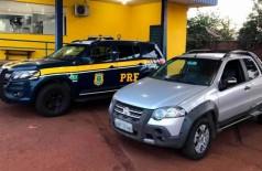 PRF recupera em MS picape furtada há quatro anos em MG