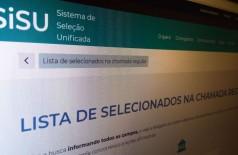 MEC divulga hoje resultado do Sisu do segundo semestre deste ano (Foto: Arquivo/Agência Brasil)