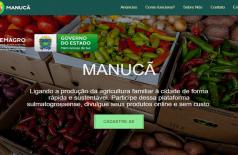 Aberta para cadastro de compradores, plataforma ajuda a encontrar produtores de alimentos durante a pandemia (Foto: reprodução)