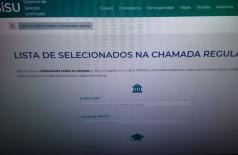 Educação Sisu: inscritos podem conferir se foram selecionados (Foto: Arquivo/Agência Brasil)