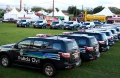 Segurança pública ganha reforço de mais de 100 novas viaturas em MS