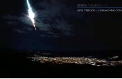 Meteorito é filmado por sete câmeras no Nordeste (Foto: reprodução/vídeo/Agência Brasil)