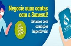 Sanesul divulga calendário para parcelamento de débitos sem juros e multas (Foto: reprodução)