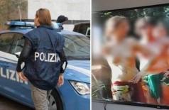 Mulheres e menores eram exploradas pelo 'culto sexual' Foto: Divulgação/Polícia de Novara