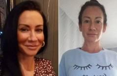 Lynette antes e depois da quarentena - Foto: Reprodução