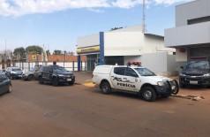 Havia aproximadamente R$ 5 milhões no cofre do banco - Foto: Rony - Alvorada Informa