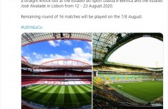 Liga dos Campeões da Europa retorna com jeito de Copa do Mundo (Foto: reprodução/Tweetar Ver novos Tweets Tweetar UEFA)
