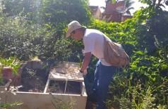 Além de orientação aos moradores, ação 'Sábado sem Mosquito' retira lixo e entulhos que favorecem à procriação do mosquito da dengue (Foto: Divulgação/Prefeitura)