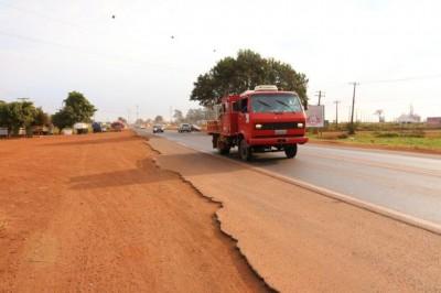Vários acidentes com mortes já ocorreram na MS-156, no Guaicurus, devido ao grande fluxo de usuários de trânsito - Foto: Divulgação