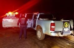 Veículo foi recuperado em ação policial na Grande Dourados (Foto: Divulgação/DOF)