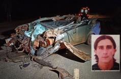 Homem morre em colisão entre carro e carreta na Perimetral Norte