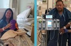 Jocelynn e Terrell: transplante de rim (Foto: Reprodução/Fox5NY)