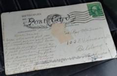 Cartão-Postal chega com atraso de 100 anos Foto: Reprodução/Fox 13