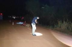 Homem morreu antes da chegada do socorro - Foto: Sidnei Bronka