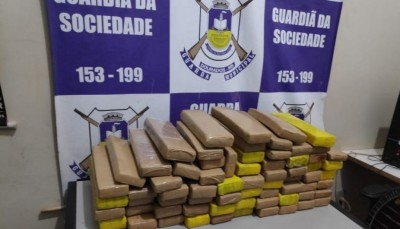 Droga foi apreendida pela Guarda - Foto: GMD