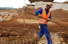 Construção civil foi o destaque do mês (Foto: Arquivo/Tânia Rêgo/Agência Brasil)