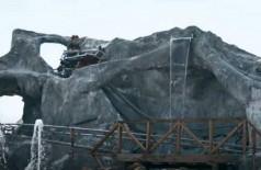 Montanha-russa caseira nos EUA (Foto: Reprodução/YouTube)