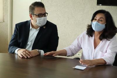 Prefeito eleito de Dourados já conversou com atual mandatária nesta semana (Foto: A. Frota)