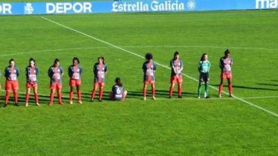 Jogadora se recusa a homenagear Maradona, senta no gramado e recebe ameaças de morte