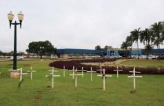 Mortes por Covid-19 em Dourados já somam 126 desde o início da pandemia (Foto: A. Frota)