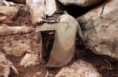 Capacete de guerreiro enterrado há cerca de 2.300 anos - Foto: Divulgação/Dubrovnik Museums