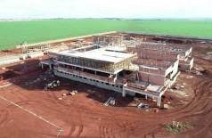 Hospital Regional está sendo construído às margens da BR-43 - Foto: SES