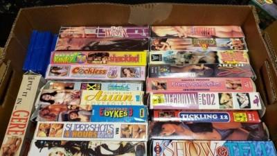 VHS pornô (imagem meramente ilustrativa) - Foto: Reprodução/Reddit