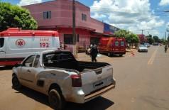 Colisão ocorreu na rua Monte Alegre - Foto: Adilson Domingos