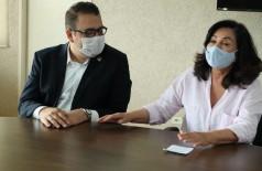 Gestão do prefeito Alan Guedes contestou informação divulgada pela antecessora (Foto: A. Frota)