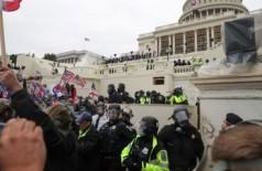 Manifestantes invadem Congresso, em Washington - REUTERS / Leah Millis