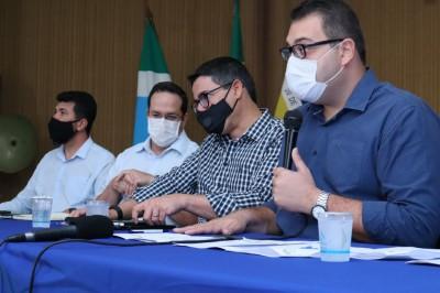 Prefeito de Dourados expediu decreto com medidas para economia de dinheiro público (Foto: A. Frota)